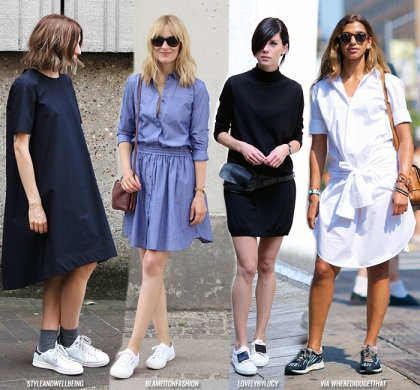 transitional-dress-plus-sneakers